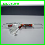 Handgun Water Pipe, Shower Perc Glass with Factory Price