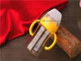 alta botella que introduce BPA del vidrio de Borosilicate 180ml libremente