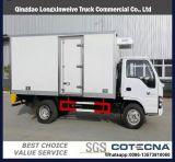 Camion del frigorifero del Van 5tons Small del carico del congelatore di frigorifero di Isuzu 4X2