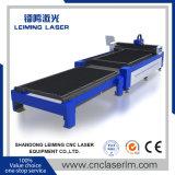 Lm4020um cortador de Laser de fibra de chapa de aço com Sistema Automático de Alimentação