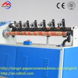 La producción en fábrica// Qgj Tongri-98 Máquina Cortadora de precisión/ espiral para tubo de papel