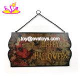 De levering voor doorverkoop past Teken van het Decor van de Muur het Houten Griezelige voor Halloween W09d043 aan