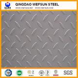 Placa Checkered material do aço suave da configuração de Q235B