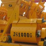 De dubbele Horizontale Concrete Mixer van de Kracht van de As (JS1000)