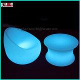 Modern LED Outdoor Furniture en plastique LED Sofa