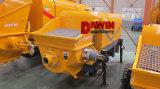 Bomba de concreto de remolque con potencia Diesel