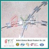 Bto 22 Konzertina-Trennmaschine-Rasiermesser-Draht/galvanisierter Ziehharmonika-Stacheldraht