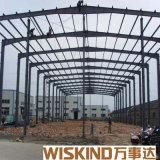 Structure métallique préfabriquée pour le hangar, garage en acier