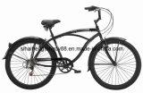 """أسود 26 """" شاطئ دراجة مع أماميّ وخلفيّة [ف] مكبح ([ش-بّ078])"""