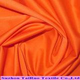 Tela tecida colorida da memória planície poli para o vestuário