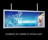 En aluminium ultraplat LED Signer Indoor Boutique Inn Magasin de la Banque Snap Boîte à lumière
