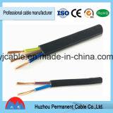 Fabricante profesional para el bajo cable Bvr del cable de transmisión de la tensión 300/500V Rvvb BVV rv