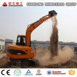 Escavadeira de esteiras X90-E/9ton 0,42cbm/Japão motor Yanmar/Via Escavadoras para venda na China na Ásia