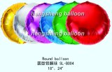 Balão da cor contínua