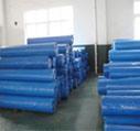 Roulis tissé de haute résistance de bâche de protection de tissu de fournisseurs de la Chine poly