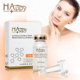 Faz a pele recuperar em um elevador imediato do soro da face do cuidado de pele do soro do Anti-Enrugamento do soro dos cosméticos Happy+ Qbeka EGF do curto período de tempo