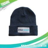 Sombreros hechos punto abofeteados de acrílico modificados para requisitos particulares del deporte de invierno para los hombres (051)