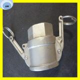 Camlock en laiton convenable de Camlock accouplant l'ajustage de précision de Camlock d'acier inoxydable