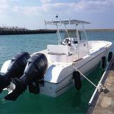 27FT Fibra de barco de pesca da consola central para venda