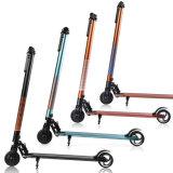 Scooter électrique en aluminium de coup-de-pied de position de 2 roues, scooter électrique pliable, scooter d'E pour l'adulte