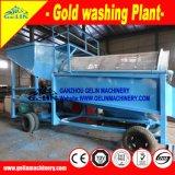 Installatie van de Was van de dieselmotor de Gouden, Scherm van de Zeeftrommel van de Dieselmotor het Gouden