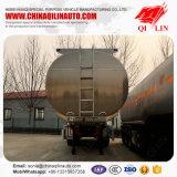 Dos compartimentos do petróleo 40cbm do petroleiro reboque Diesel opcional Semi