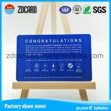 Cartão telefônico pré-pago de PVC competitivo Scrath