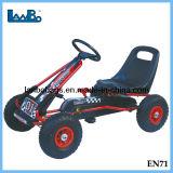 Los niños duradera de Goma Pedal karts carrera