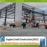 Edificio de acero prefabricado de la construcción del nuevo diseño