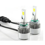 IP67 6000k Phare avant LED 36W 3800lumen pour H1 H3 H4 H7 H11 H13 9007 9004 9005 9006 Lampe frontale LED