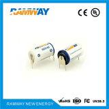 Batería de litio de la densidad de alta energía 1200mAh Er14250 para el PLC