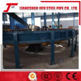 Línea soldada del molino de tubo del acero de carbón