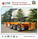 De Oplegger van het skelet voor Vervoer van de Container 40FT/20FT