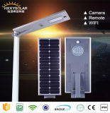 30W Energy - besparing All in One LED Solar Motion Sensor Street Panel Light