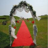Tapis rouge non-tissé de mariage de polyester