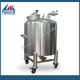 Tanque de aço inoxidável de tanque de água do tanque de armazenamento para cosméticos