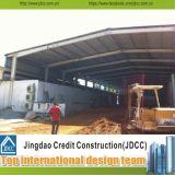 Легко установите здания низкой стоимости полуфабрикат светлые стальные