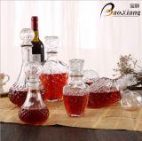 1L Fles de van uitstekende kwaliteit van het Glas van de Wisky van de Alcoholische drank van de Diamant