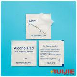 Pista de la preparación del alcohol con el alcohol isopropilo del 70%