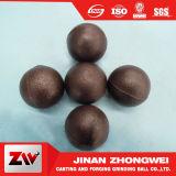 High-Medium bajo la bola de fundición de acero pulido en cromo para planta de cemento y la minería del cobre