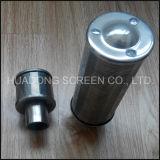 Нержавеющая сталь 304 с помощью проволоки Джонсон трубопровод фильтра форсунки