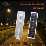 12V 40W het Zonnepaneel LED Street Light van Outdoor IP65 Integrated Garden