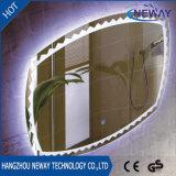 Espelho esperto leve Fogless impermeável do diodo emissor de luz do banheiro da alta qualidade