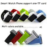 SIM 카드 구멍 A1를 가진 최신 판매 Bluetooth 지능적인 시계 전화