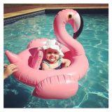 Flamingo Shape Bebê Inflável Kids Piscina do banco de flutuação do anel de barco