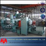 ゴム2ロールスロイスの混合製造所、ゴム製混合機械、開いた混合製造所