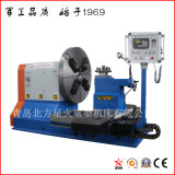 Machine de tour professionnelle de haute qualité pour le moule de pneu, la bride, la roue automatique, l'usinage par hélice de chantier naval (CK61160)
