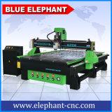 1530 Máquina de roteador de madeira CNC de 3 eixos 3D com fuso de resfriamento de ar e bomba de vácuo