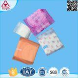 Het aangepaste Beschikbare Katoenen Volwassen Vrouwelijke Bio Sanitaire Stootkussen van het Comfort