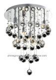 Lámpara del techo del grupo de Phine con la cortina cristalina PC-0019
